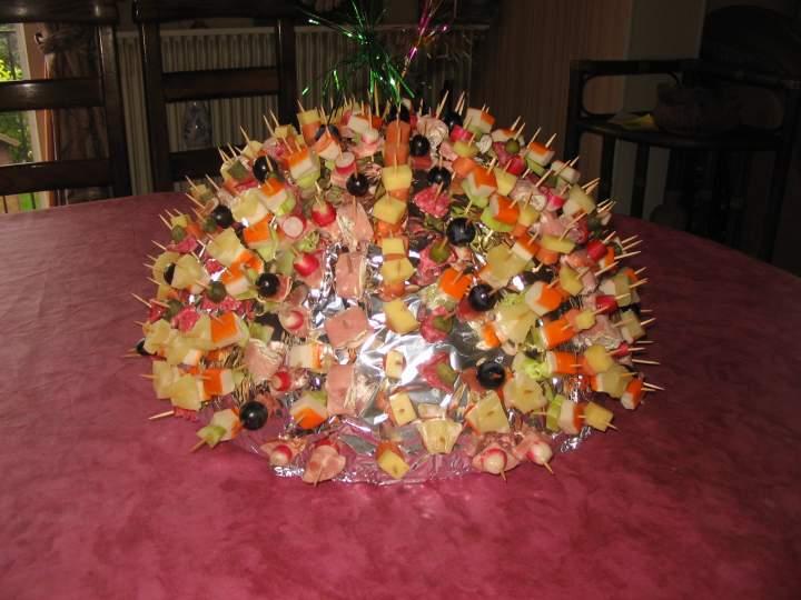 Les gourmandises de stella brochettes ap ritives - Aperitif dinatoire simple et rapide ...